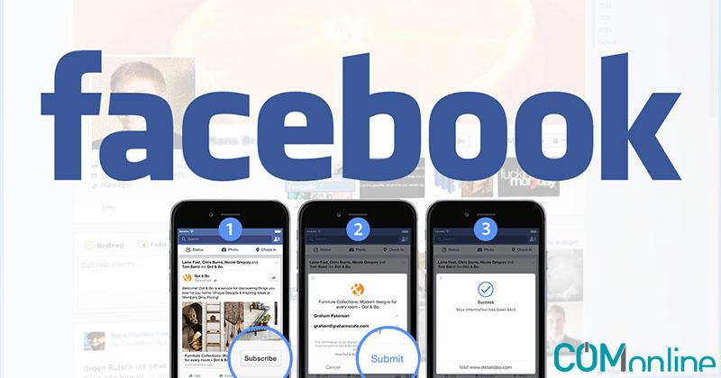 Facebook Lead Ads, la conversión a un solo clic