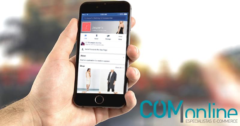 Crea tu tienda online en tu página de Facebook