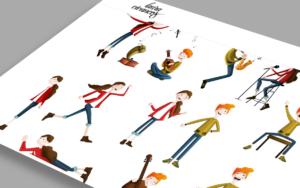 Laura Vivancos Ilustración Chicos Música - Comonline