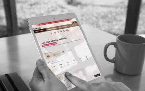 Desarrollo Ecommerce Kartox Tablet Página Antigua - Comonline