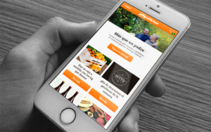 La Mejor Naranja Vista Móvil Web Comonline