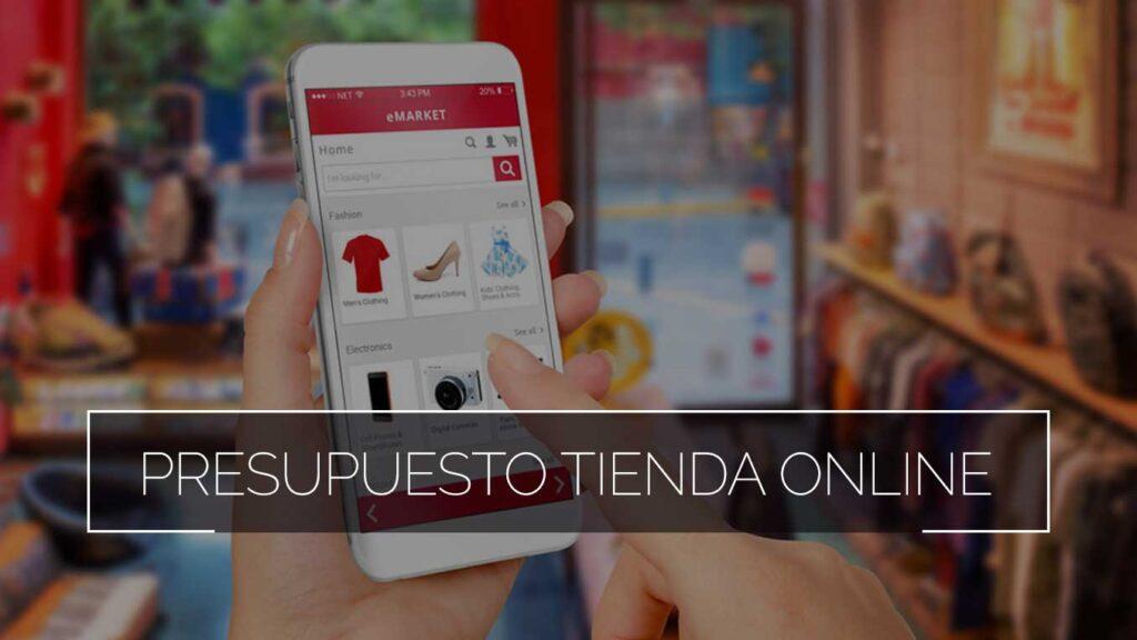 Presupuesto Tienda Online Comonline