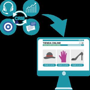 Integracion con CRM - Desarrollo web - Comonline