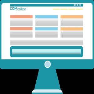 Pagina corporativa - Desarrollo web - Comonline