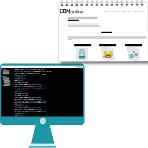 Maquetacion web - Diseno y desarrollo web - Comonline y Global Brand