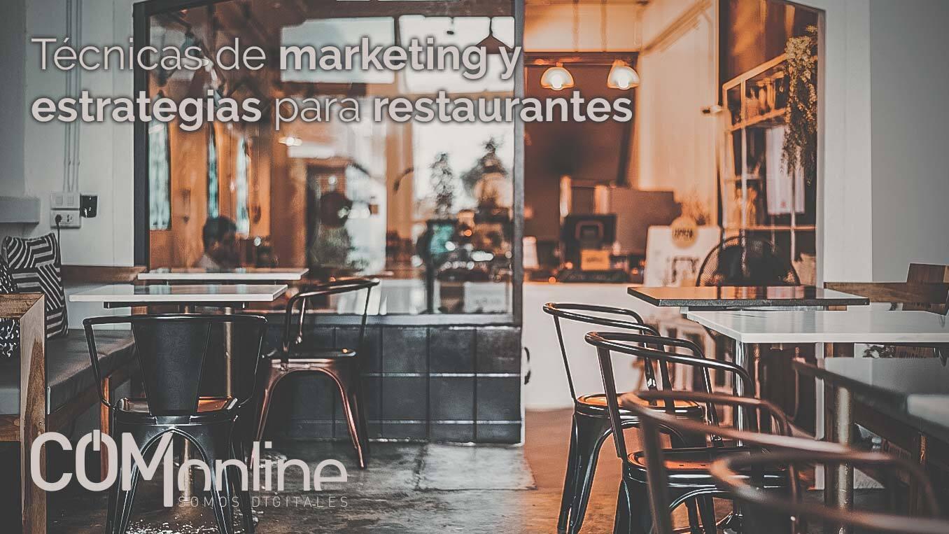 Marketing para restaurantes | 6 Técnicas y estrategias Online | Comonline